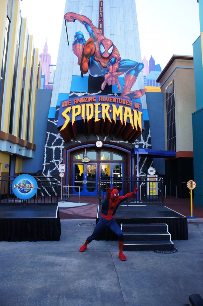 Photos from the Amazing Adventures of Spiderman Re-Opening at Islands of Adventure
