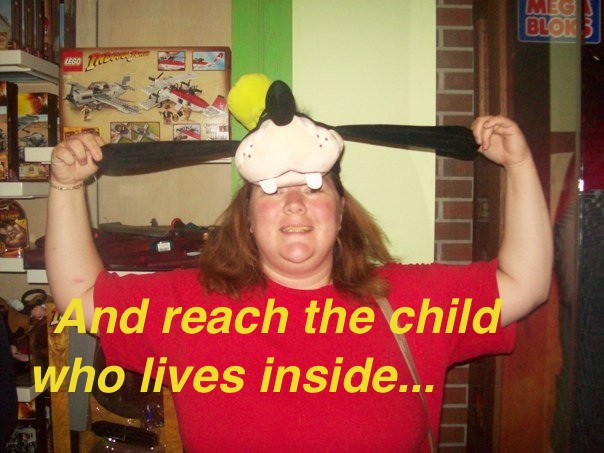 And reach the child who lives inside