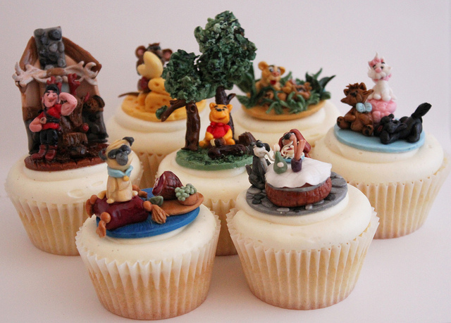 Beloved Disney Movie Scene Cupcakes