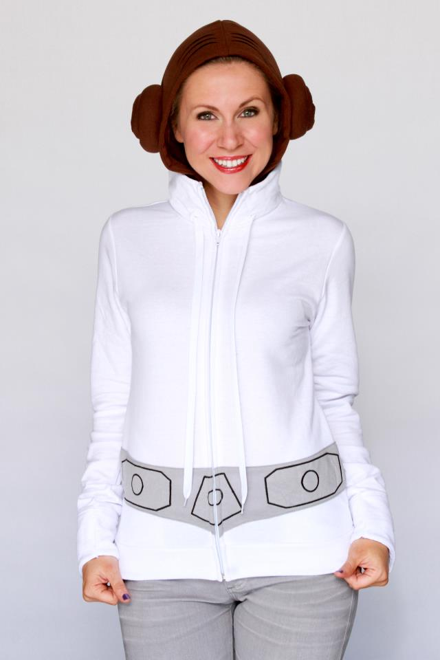 Her Universe Princess Leia Cosplay Hoodie Star Wars