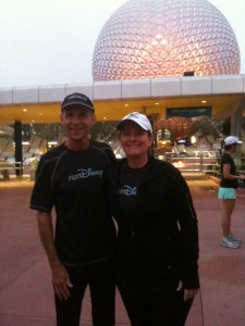 Jeff Galloway and I at the 2012 Princess Marathon Weekend MeetUp