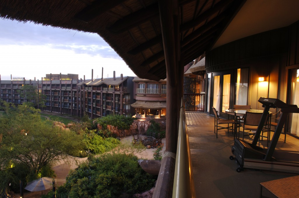 Animal Kingdom Lodge Presidential Suite Balcony