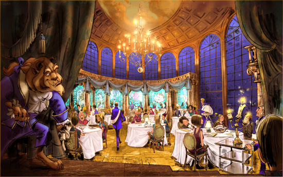 Be Our Guest Restaurant Fantasyland