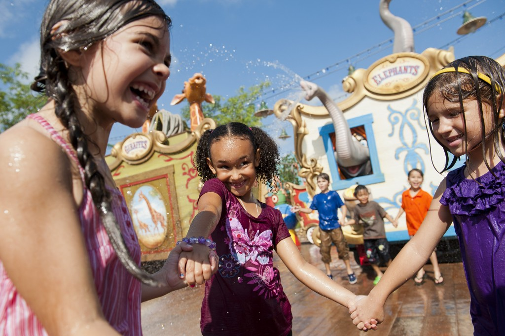 Casey Jr. Splash 'N' Soak Station Now Open in Magic Kingdom Fantasyland Expansion