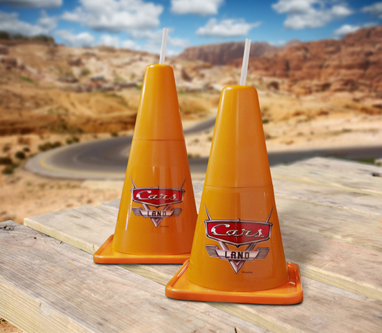 Check Out These Cozy Cone Souvenir Cups From Cars Land at Disney California Adventure