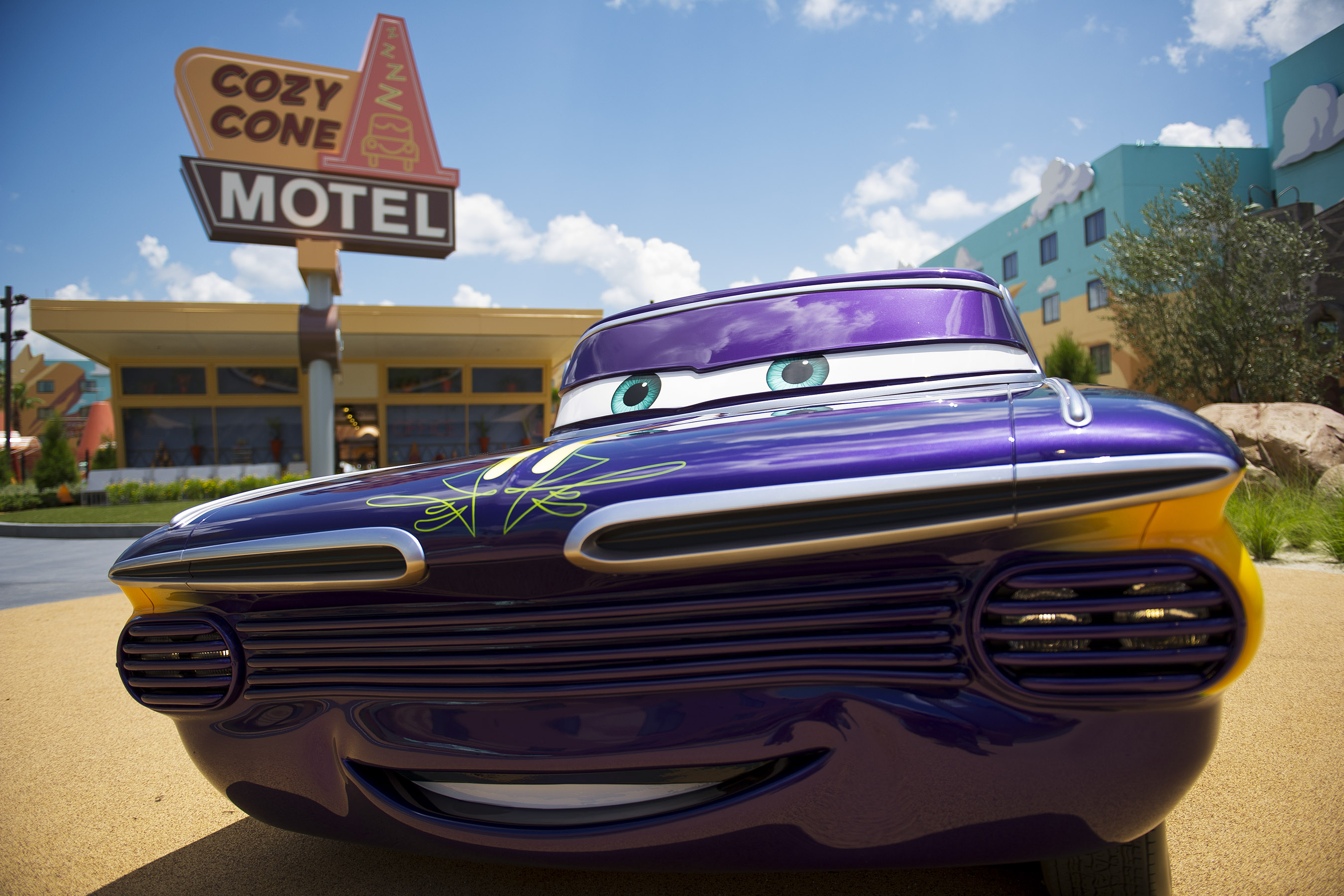 Disney Art of Animation Cars Ramone