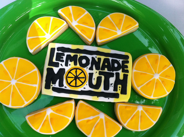 Disney Channel Lemonade Mouth Cookies