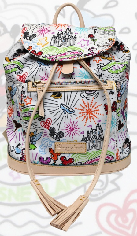 Disney Dooney and Bourke Sketch Backpack