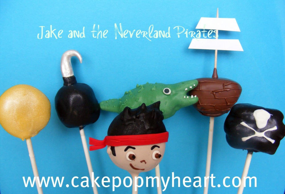 Disney Jake and the Neverland Pirates Cake Pops
