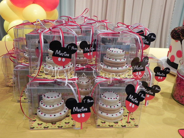 Disney Mickey Mouse Themed Birthday Party Dessert Table | Disney ...