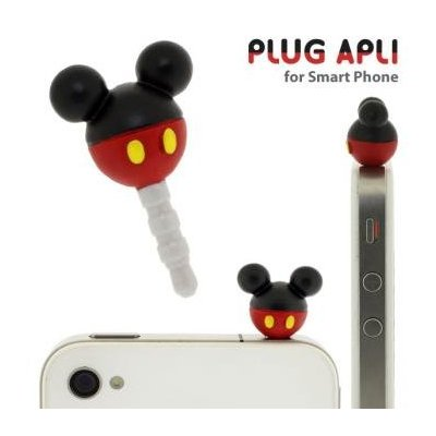 Disney Mickey Mouse phone jack plug accessory