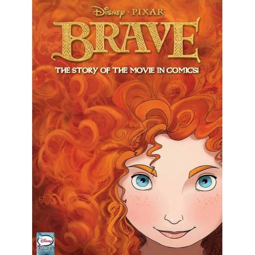 Disney Pixar BRAVE Movie Comic Book Cover Art
