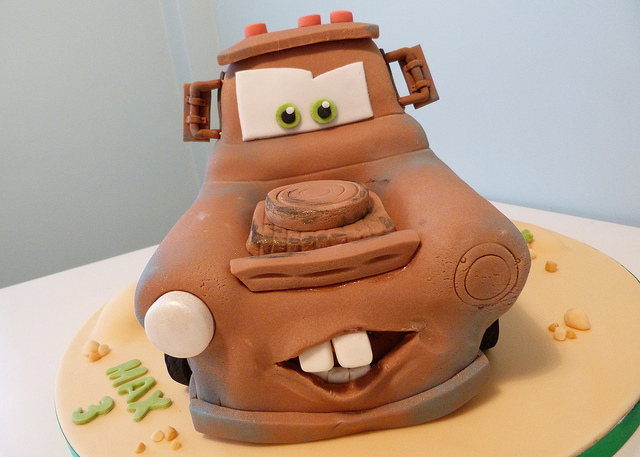 Super Disney Pixar Cars Mater Tow Truck Birthday Cake Disney Every Day Funny Birthday Cards Online Alyptdamsfinfo