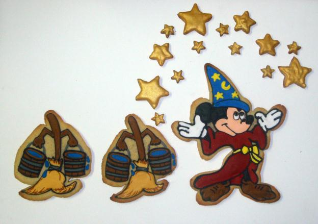 Disney Sorcerer Mickey Fantasia Cookies