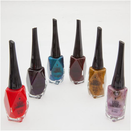 Disney Villains Designer Collection 6 Color Nail Polish Set