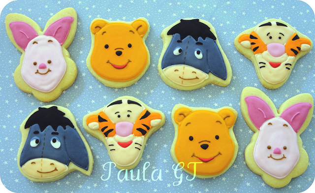 Disney Winnie the Pooh and Friends Cookies