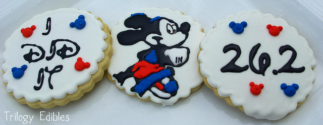 runDisney Mickey Mouse Walt Disney World Marathon Cookies