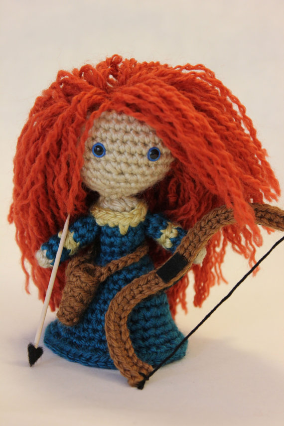 Disney's BRAVE Princess Merida Amigurumi Doll