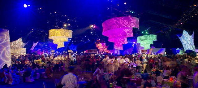 2012 Epcot International Food & Wine Festival Party For the Senses Dates