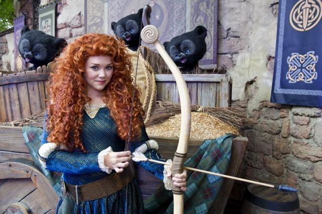 Where Can I Find Brave Princess Merida at Walt Disney World?