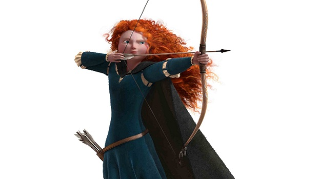 Merida Disney Pixar Brave the video game