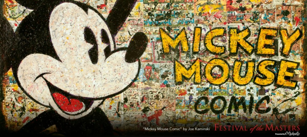 Mickey Mouse Comic Festival of the Masters 2012