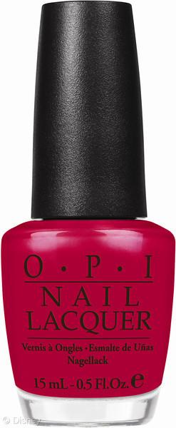 New Disney Limited Edition Minnie Mouse OPI Nail Polish Dark Pink