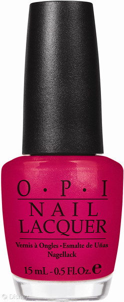 New Disney Limited Edition Minnie Mouse OPI Nail Polish Hot Pink