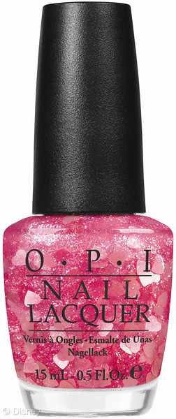 New Disney Limited Edition Minnie Mouse OPI Nail Polish Pink Hearts