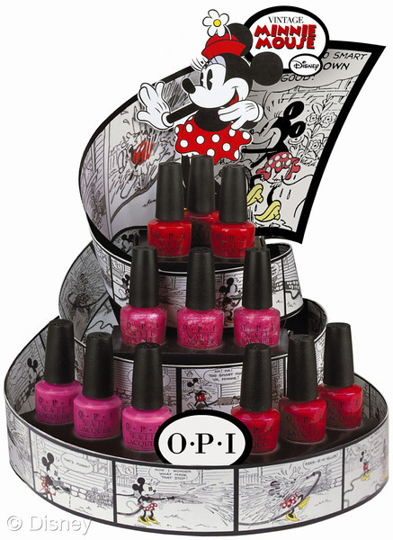 New Disney Limited Edition Minnie Mouse OPI Nail Polish