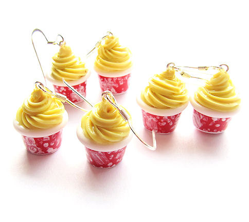 Pineapple Scented Disney Aloha Isle Dole Whip Earrings