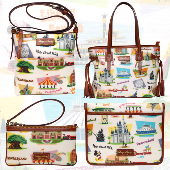 Retro Walt Disney World Dooney and Bourke Bags