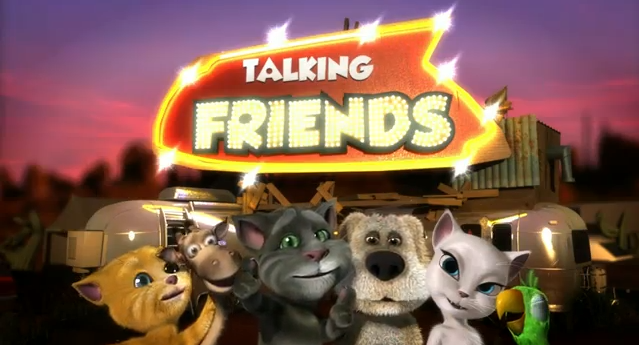 "Have You Seen the Disney Web Series ""Talking Friends""?"
