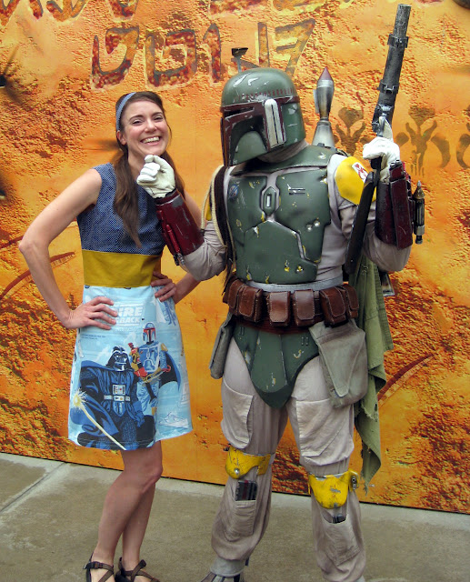"Fan Made ""The Empire Strikes Back"" Dress for Star Wars Weekends 2012"