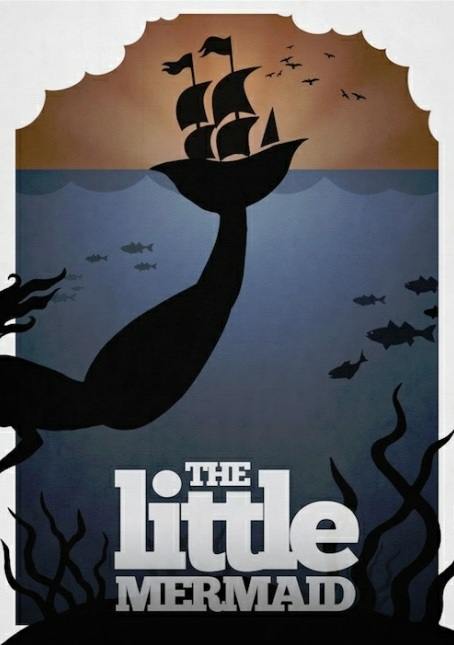 The Little Mermaid Minimalist Poster