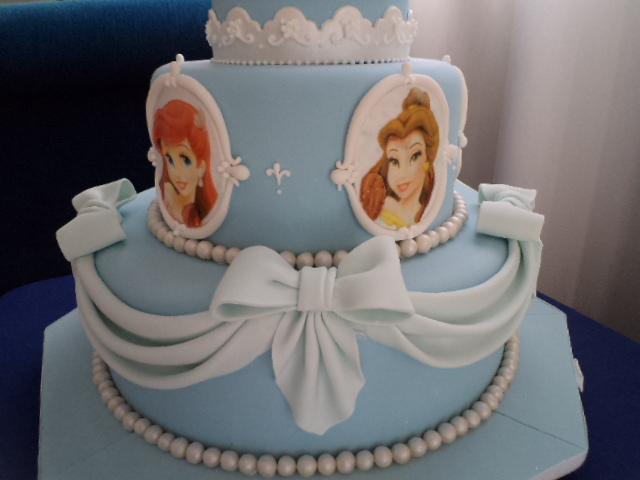 Three Tier Disney Cinderella Princess Cake Disney Every Day