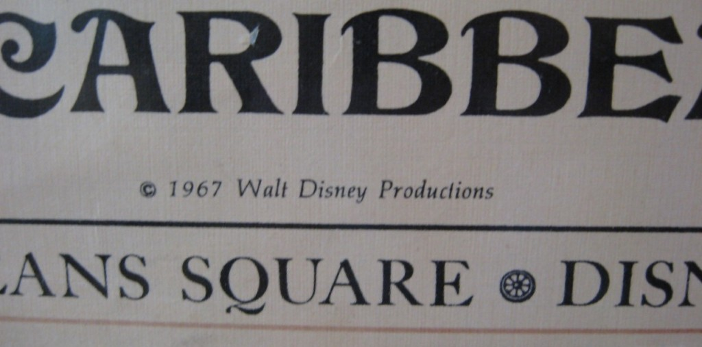 1967 Disneyland Pirates of the Caribbean Attraction Poster Brings $4,538 at Auction