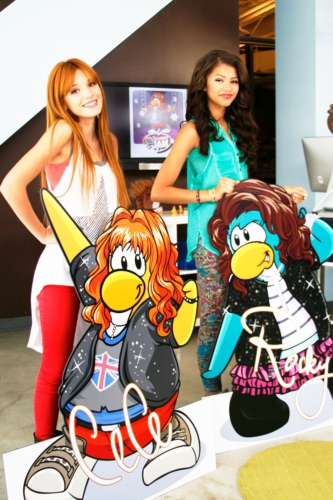 Shake it Up's Rocky and CeCe Join Disney's Club Penguin