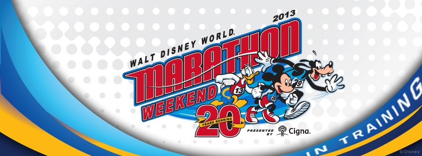 "2013 Walt Disney World Marathon ""In Training"" Facebook Cover Photo"