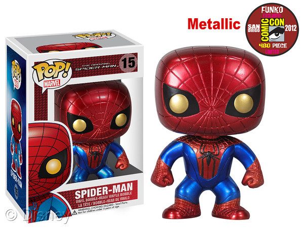 "Bobble-Head Spider-Man 3"" POP!"