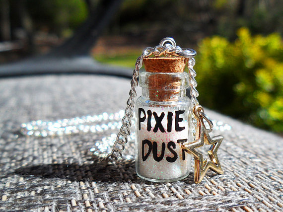 Bottle of Tinker Bell's Pixie Dust Necklace