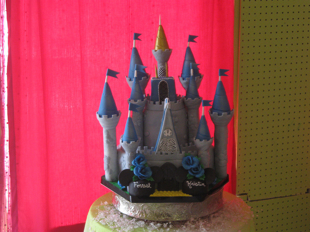 Cinderella Castle Disney Wedding Cake