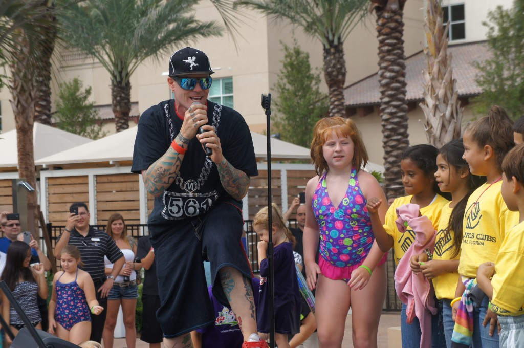 Vanilla Ice at gaylord palms resort