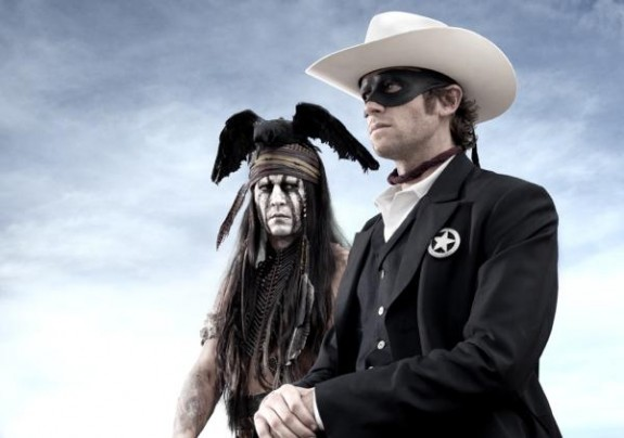 Disney Lone Ranger Movie Johnny Depp Armie Hammer