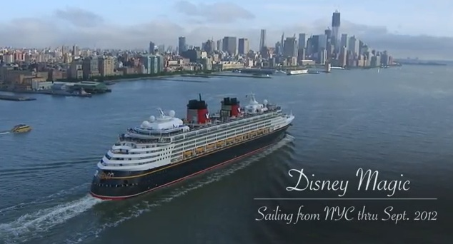 Disney Magic New York City Canada 2012