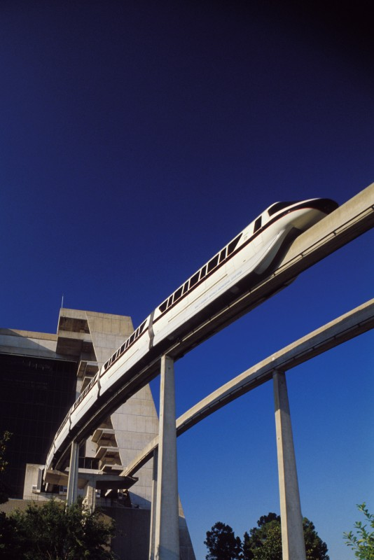 Will You Notice the Next Time You Ride the Monorail?