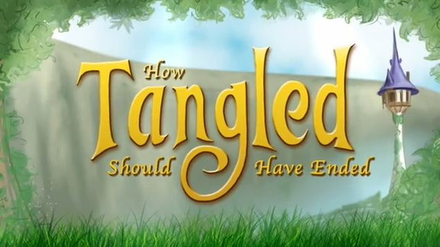 Disney Parody How Tangled Should Have Ended