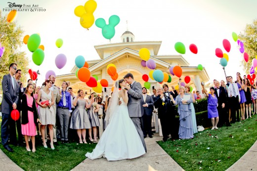"Disney ""UP"" Inspired Wedding at Walt Disney World Resort"