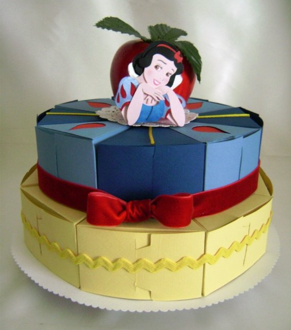 Disney Snow White Birthday Favor Box Cake Disney Every Day
