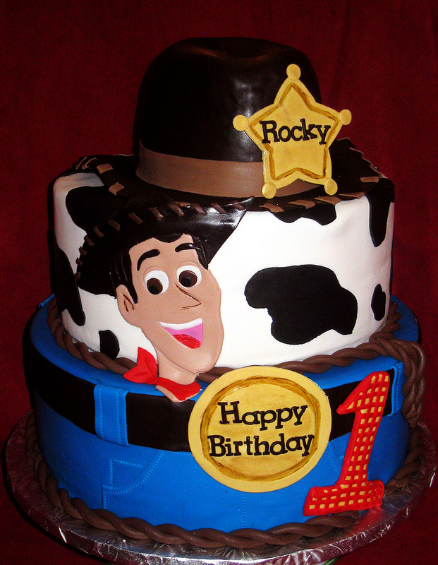 Disney Toy Story Sheriff Woody Birthday Cake